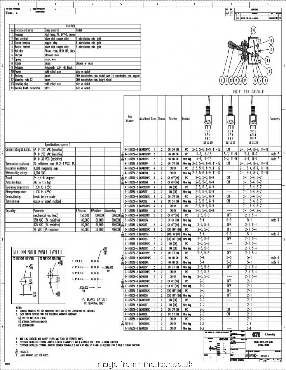 3Pdt Toggle Switch Wiring Diagram from tonetastic.info
