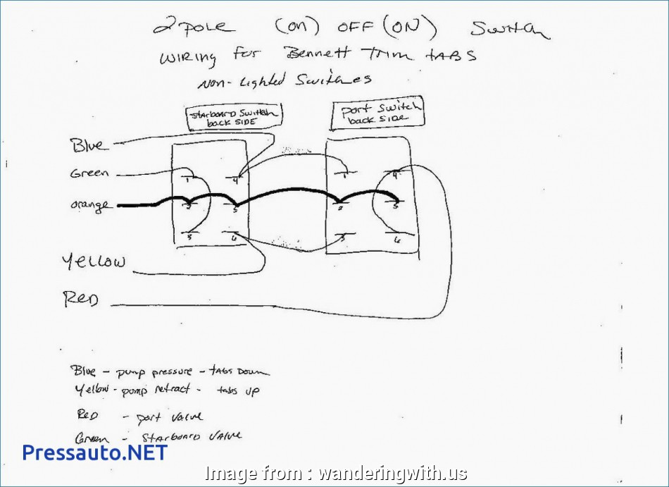 3Pdt Toggle Switch Wiring Diagram Fantastic Narva, Rocker ... on