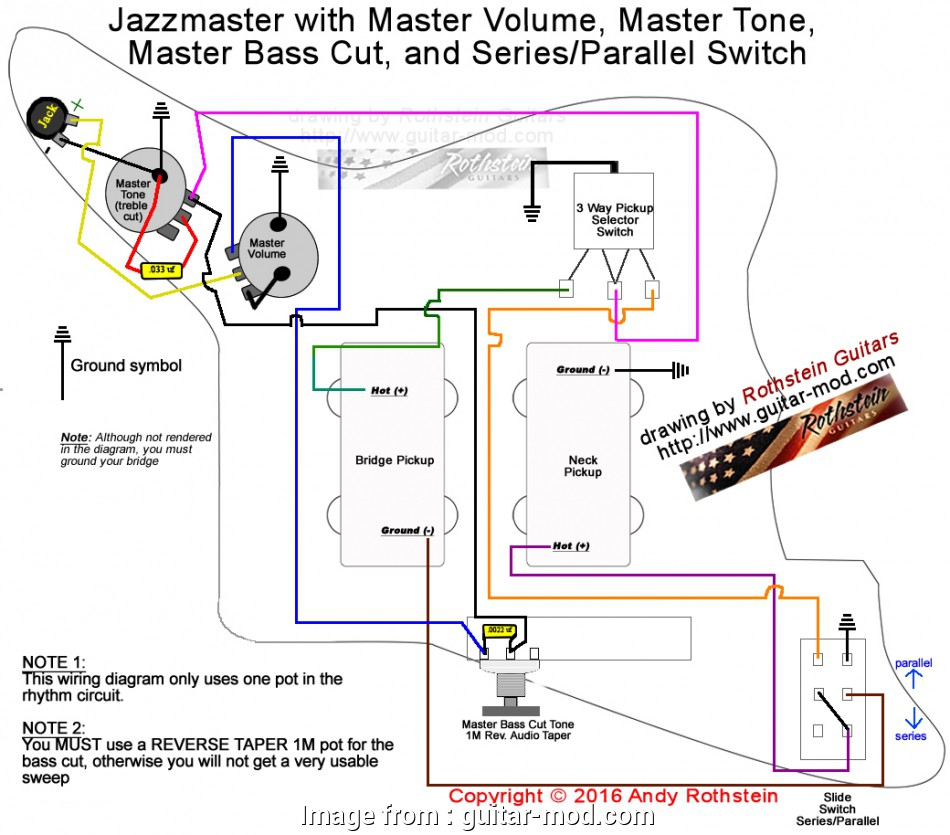 Jazzmaster Wiring Diagram 50 S - Wiring Diagram & Cable ... on