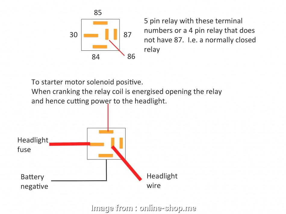 All Relay Wiring Diagrams - Wiring Diagram Schematics on
