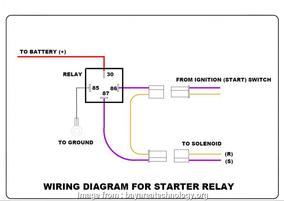4  Relay Wiring Diagram Starter Cleaver Ignition Relay Wiring Diagram On File  1 118919 Filename