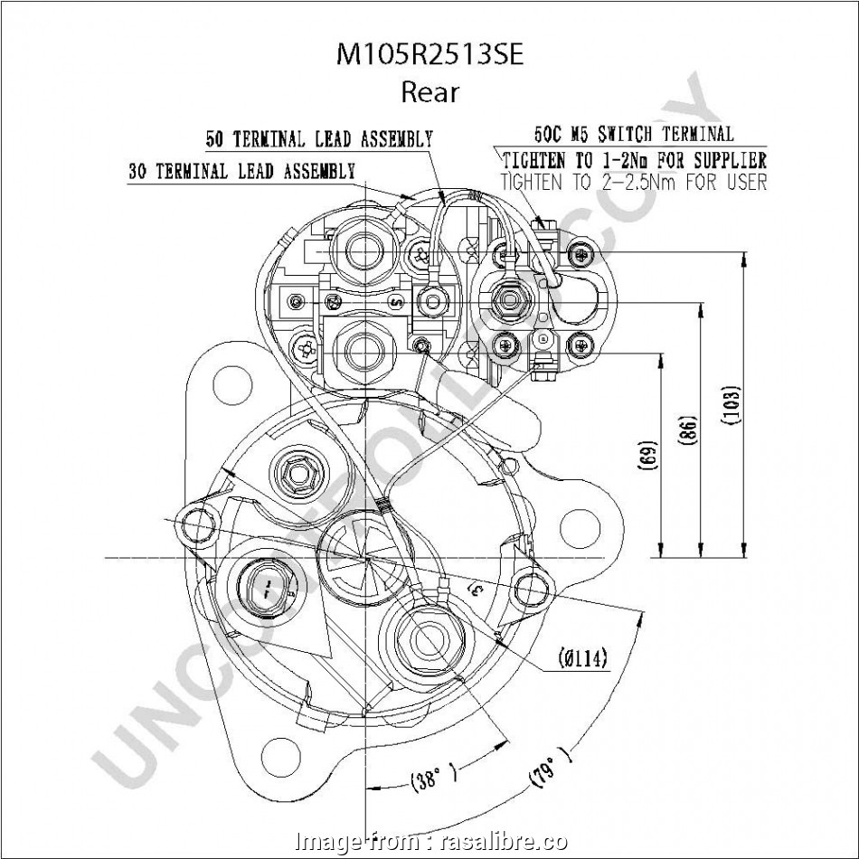 42mt Starter Wiring Diagram Professional Delco Remy