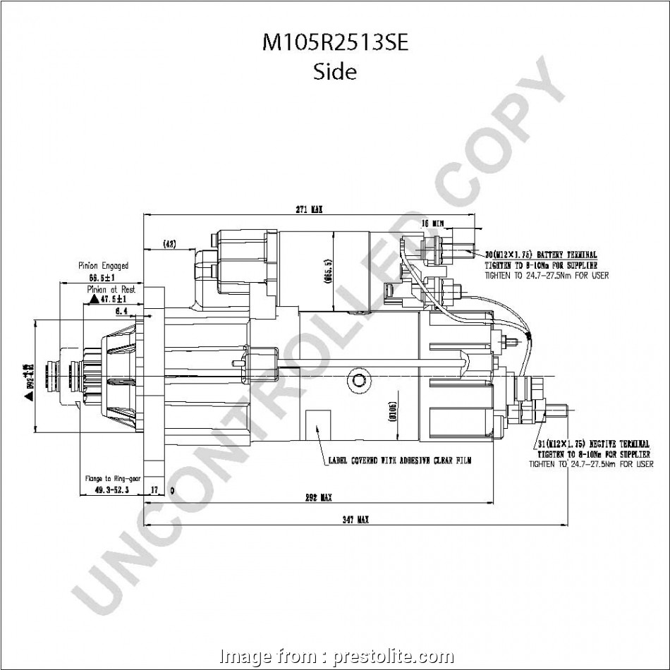 42mt Starter Wiring Diagram New M105r2513se Side  Drawing  Output Curve M105r2513se Output Curve