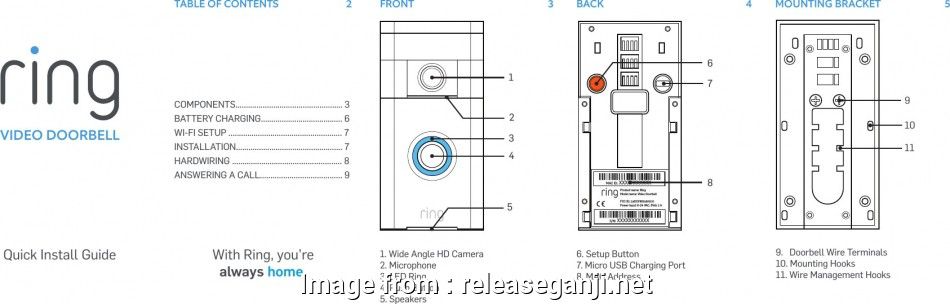 Six Wire Schematic Diagram - Wiring Diagrams Home Doorbell Wiring on