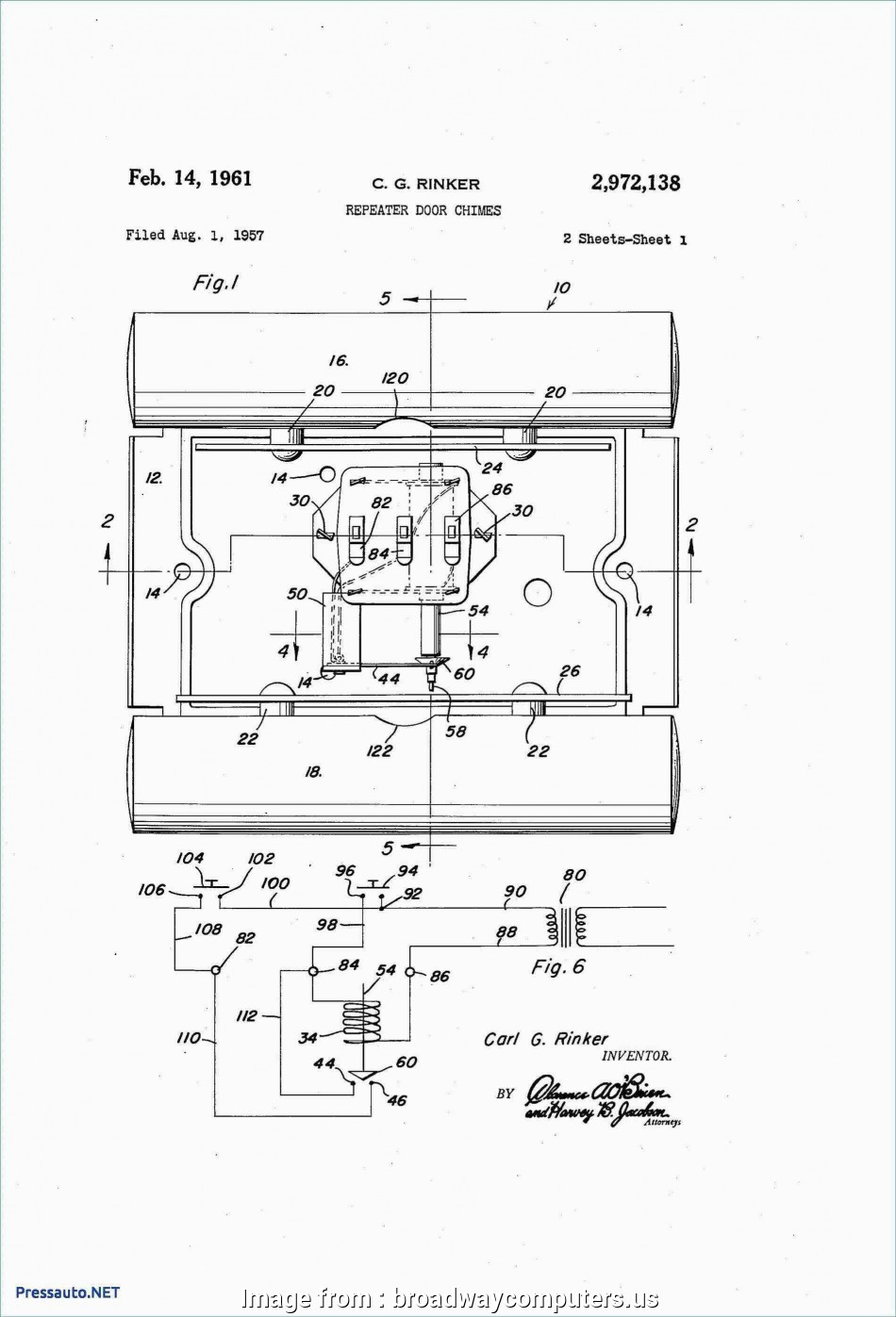 6 Wire Doorbell Wiring Diagram Simple Images Of 6 Wire ... Wiring A Doorbell On on