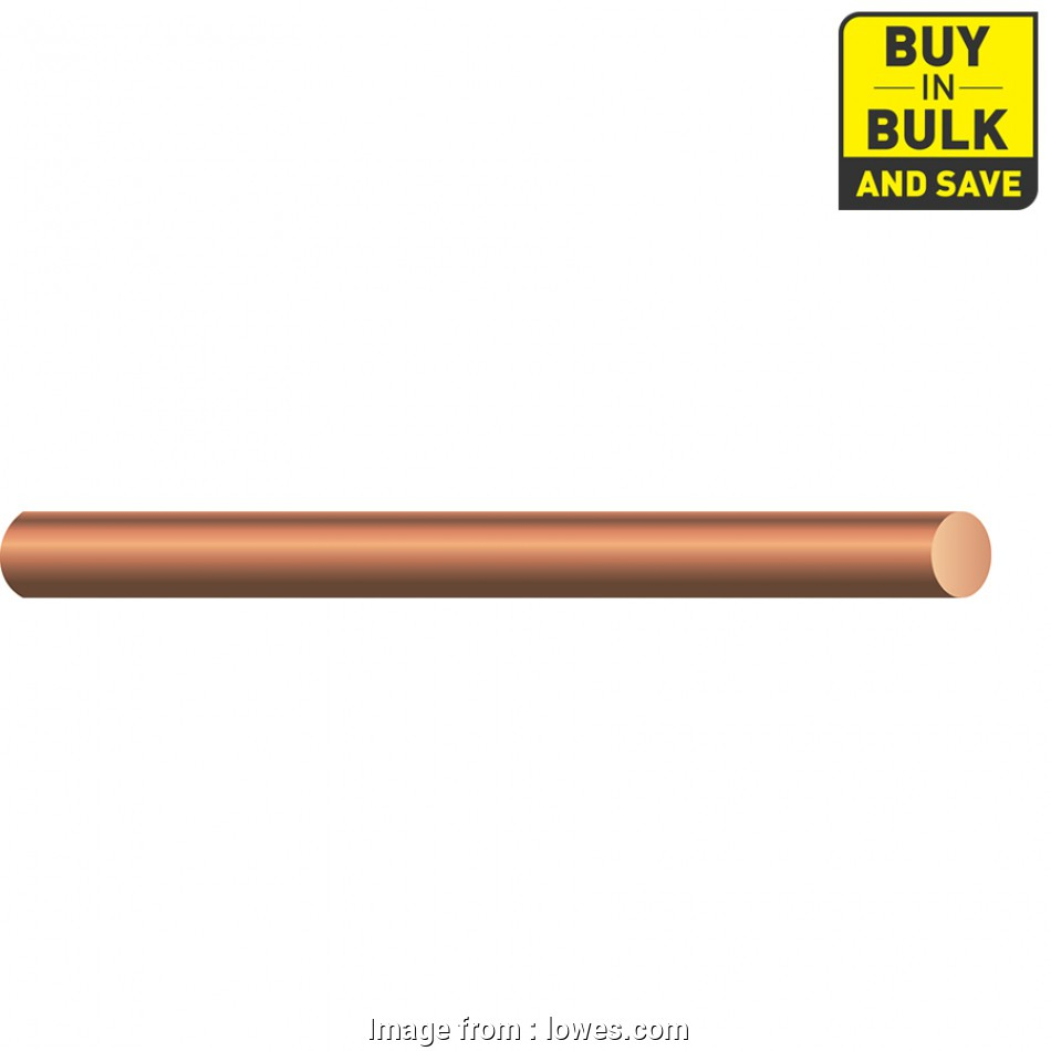 8 awg copper wire lowes Shop Southwire 8-Gauge Solid Soft Drawn Copper Bare Wire (By-the 11 Perfect 8, Copper Wire Lowes Solutions