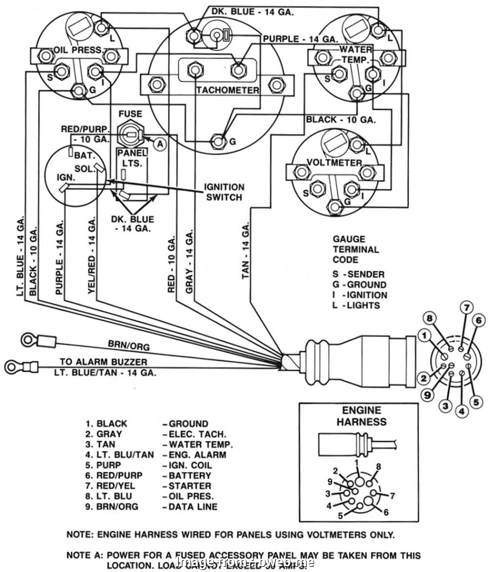 8 Gauge Wire Relay Simple Tachometer Wiring Diagram Johnson Faria Diagrams Electrical Autometer