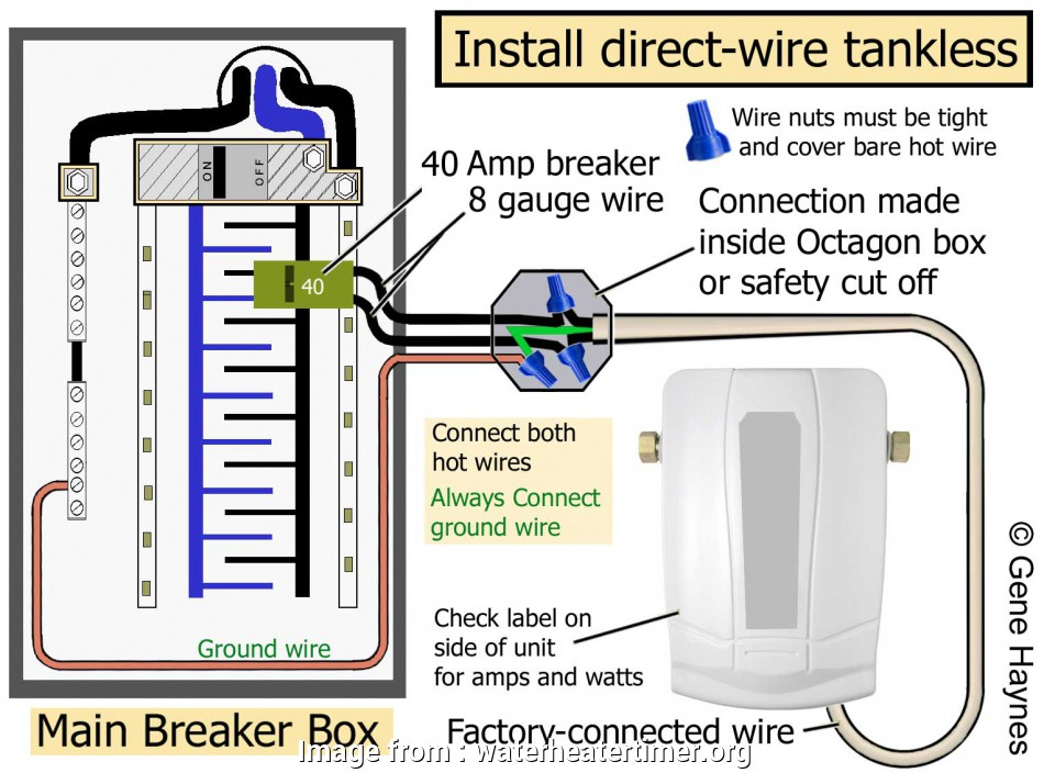 8 awg wire breaker size Larger image, Factory-connected wire/ or pigtail attached to tankless. Read rating plate on side of unit, amps, watts. Connect wire from breaker and 8, Wire Breaker Size Practical Larger Image, Factory-Connected Wire/ Or Pigtail Attached To Tankless. Read Rating Plate On Side Of Unit, Amps, Watts. Connect Wire From Breaker And Images