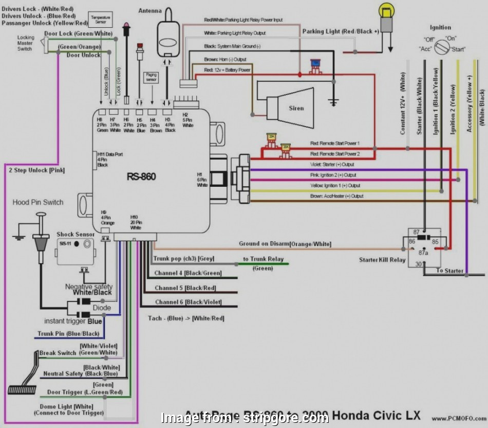 95 Civic Starter Wiring Diagram Nice 1995 Honda Civic