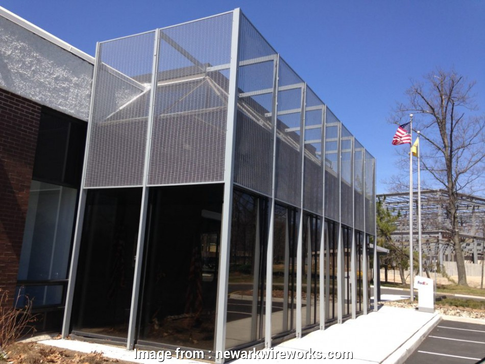 architectural wire mesh panels Our architectural meshes, beauty, elegance,, security to, interior or exterior, structure. We achieve this through, utilization of mesh and 9 Creative Architectural Wire Mesh Panels Galleries