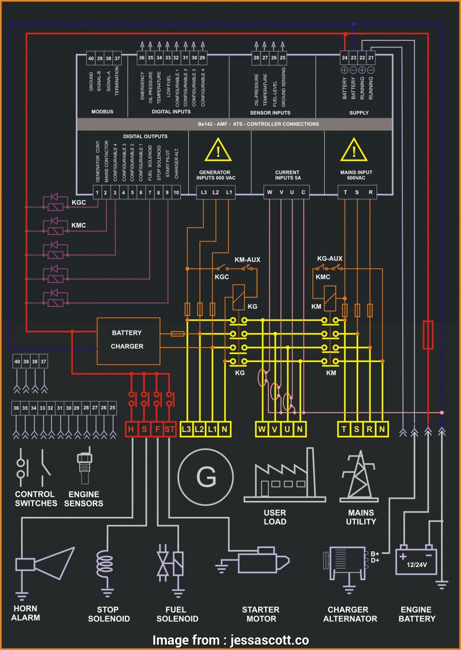 Autocad Electrical Panel Wiring Nice Generator Control