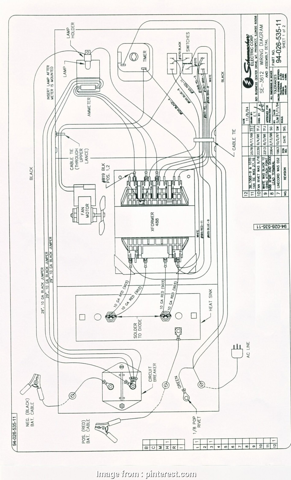 automotive battery charger wiring diagram schumacher battery charger wiring diagram, charger, Pinterest 19 Popular Automotive Battery Charger Wiring Diagram Ideas