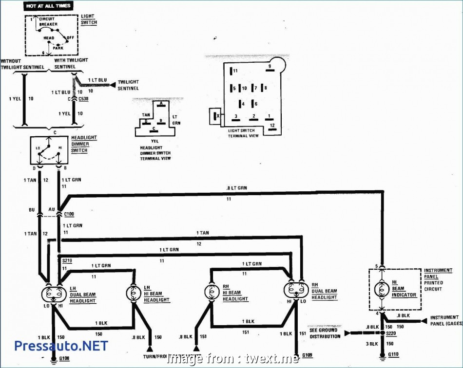 Automotive Light Switch Wiring Diagram Creative The Best Headlight Dimmer Switch Wiring Diagram
