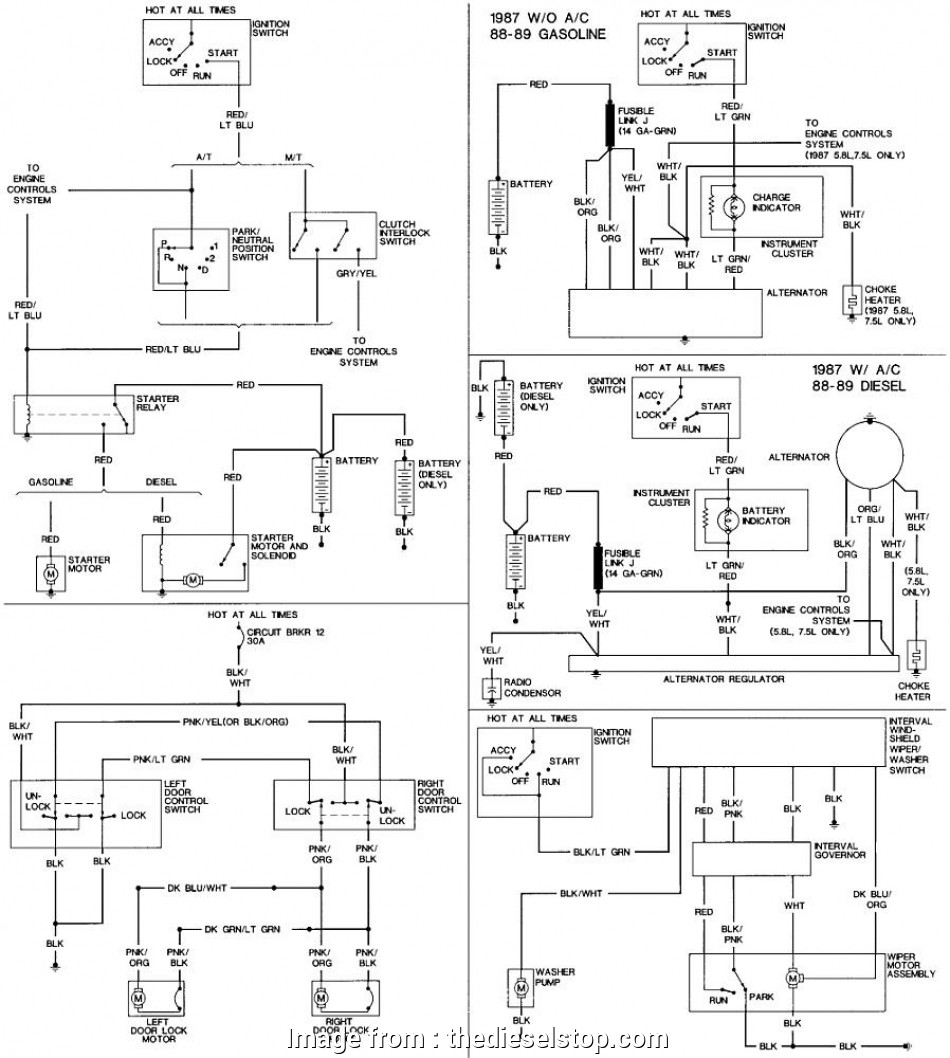 Battery Starter Wiring Diagram Popular Click Image  Larger