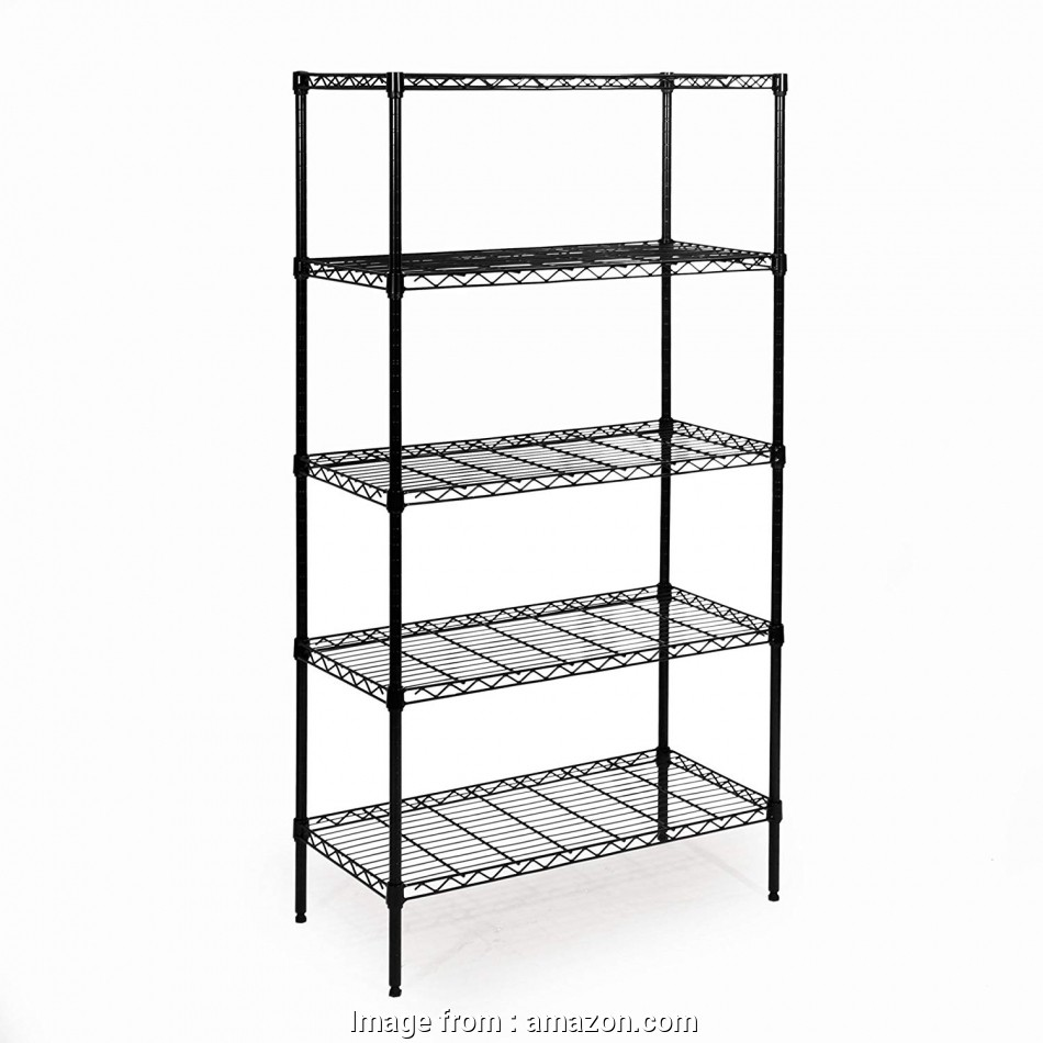 black epoxy wire shelving Amazon.com: Seville Classics 5-Tier Black Epoxy Steel Wire Shelving,, D x, W x, H: Home & Kitchen 12 Brilliant Black Epoxy Wire Shelving Pictures
