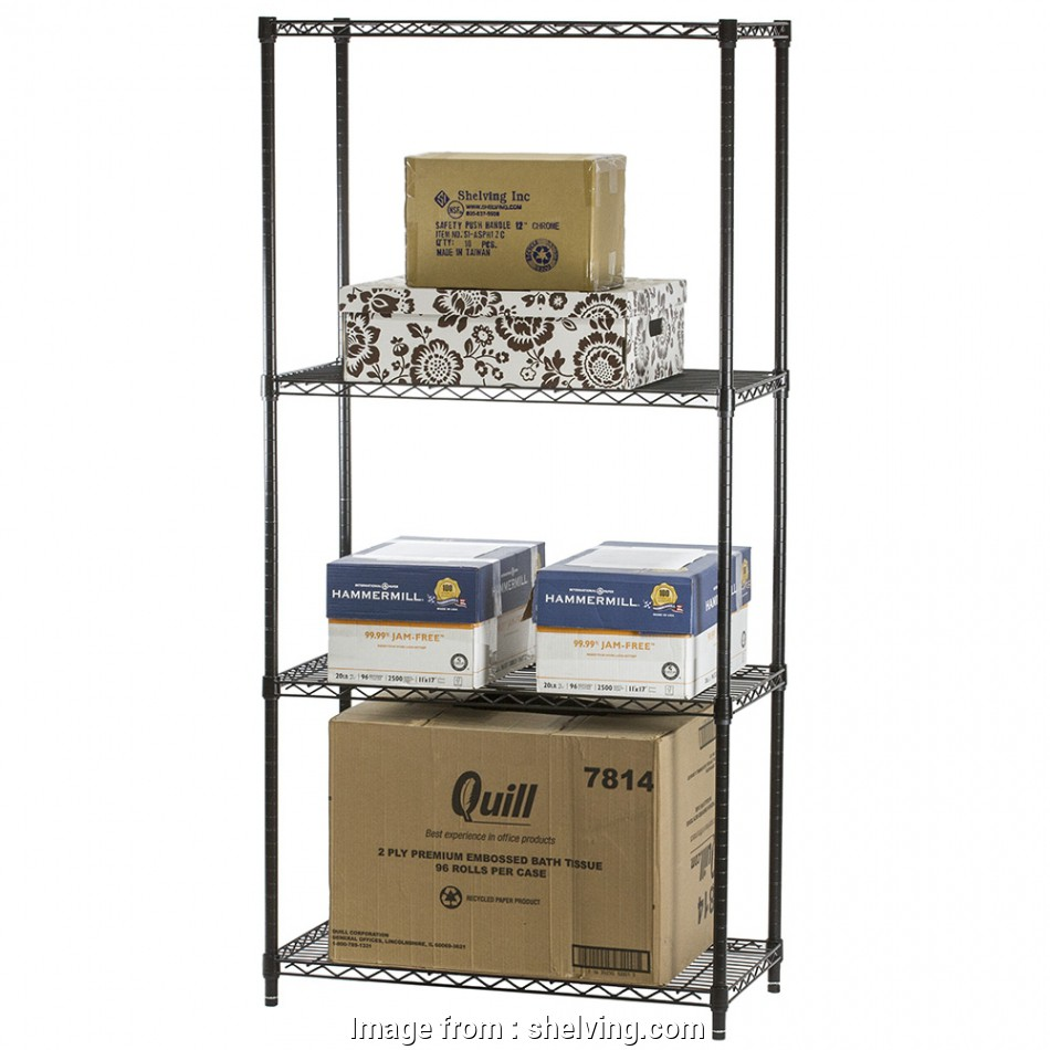 black wire shelf bathroom Black Wire Shelving with 4 Shelves, Standard Duty,, Shelving Black Wire Shelf Bathroom Top Black Wire Shelving With 4 Shelves, Standard Duty,, Shelving Galleries