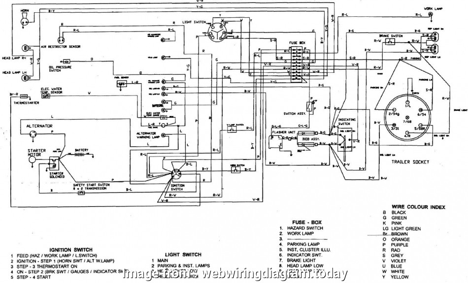 Bobcat  Starter Wiring Diagram Simple 743 Bobcat Wiring