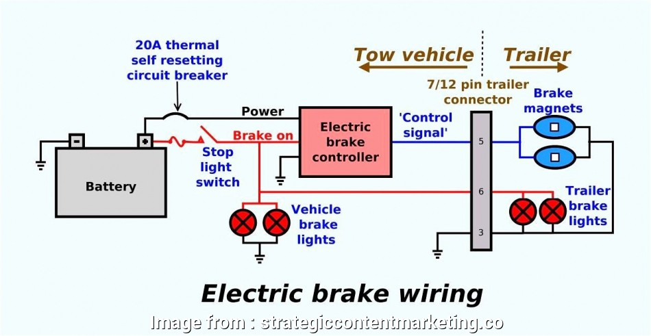 Brake Force Trailer Brake Controller Wiring Diagram Best Electric Trailer Bra    Brake Force