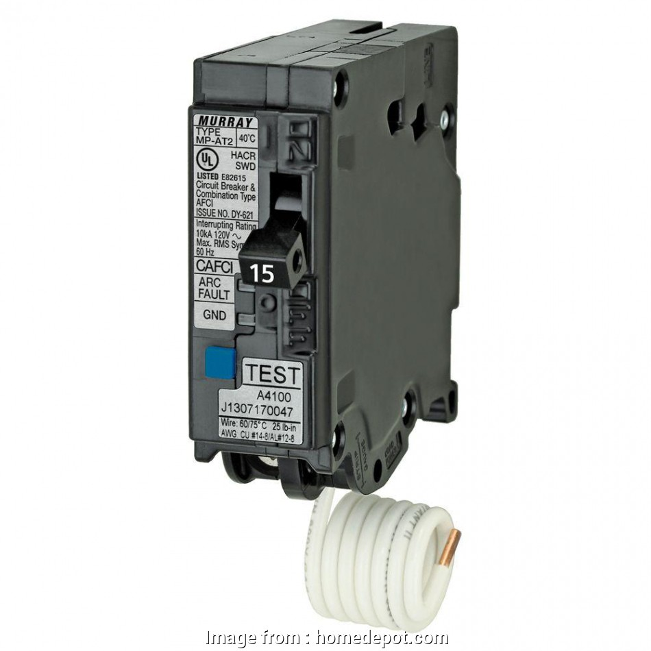 can 12 gauge wire be used with a 15 amp breaker Murray 15, 1, Single-Pole Combination AFCI Circuit Breaker Can 12 Gauge Wire Be Used With A 15, Breaker Creative Murray 15, 1, Single-Pole Combination AFCI Circuit Breaker Galleries