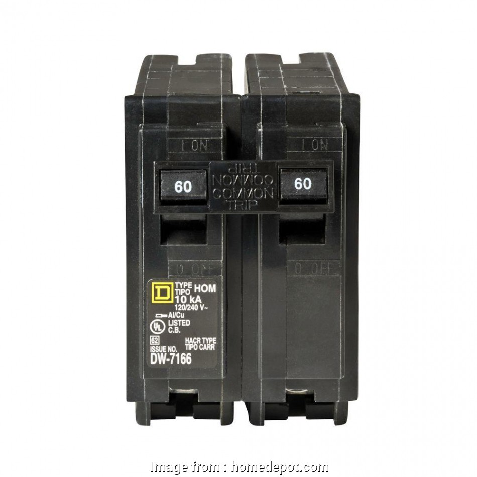 can 8 gauge wire handle 60 amps Square D Homeline 60, 2-Pole Circuit Breaker. +8 20 Simple Can 8 Gauge Wire Handle 60 Amps Collections