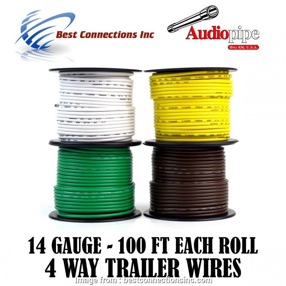 can i use 14 gauge wire for lights 14 Gauge, Feet Trailer Light Cable Wiring Harness 4 Colors Rewire 12 Simple Can I, 14 Gauge Wire, Lights Pictures