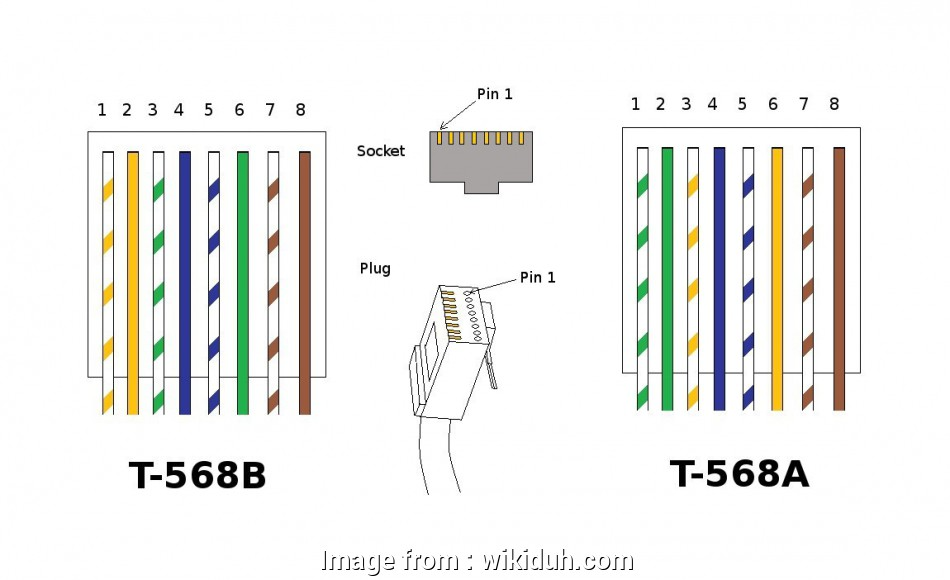 Ethernet Cable Wiring Diagram Wall Jack from tonetastic.info