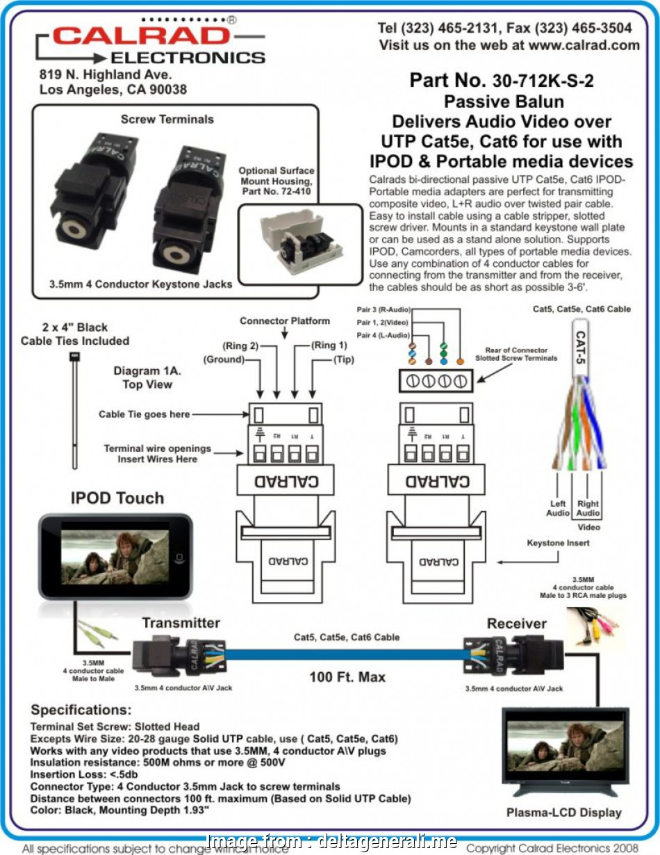 Cat 5 Wiring Diagram Cctv Popular Balun In With Help For Agnitum Me Throughout