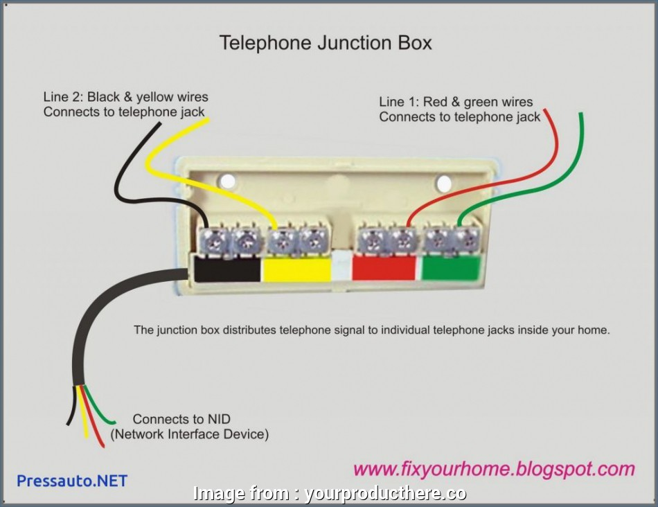Telephone Wall Plate Wiring Diagram from tonetastic.info