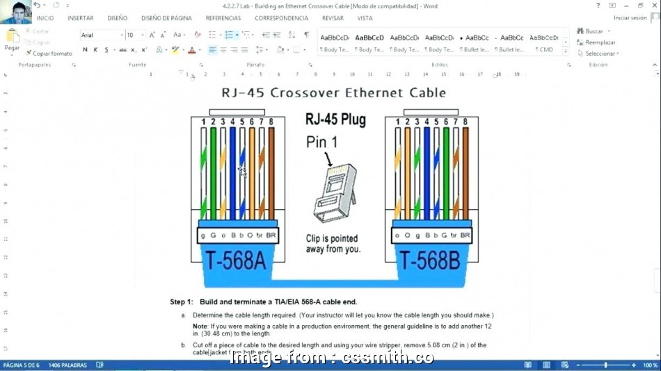 Cat 6 Wiring Diagram  Wall Plates A Or B Fantastic Cat6