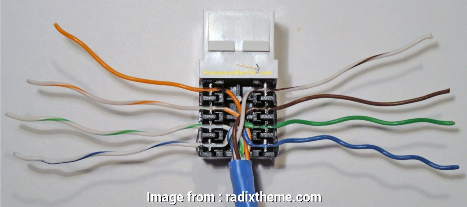 14 Simple Cat6 Wall Outlet Wiring Diagram Galleries