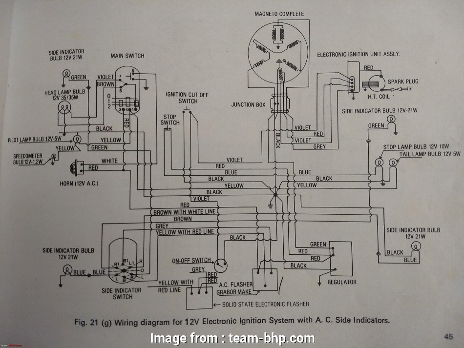Cbz Xtreme Electrical Wiring Diagram Most Wiring Diagrams Of Indian Two