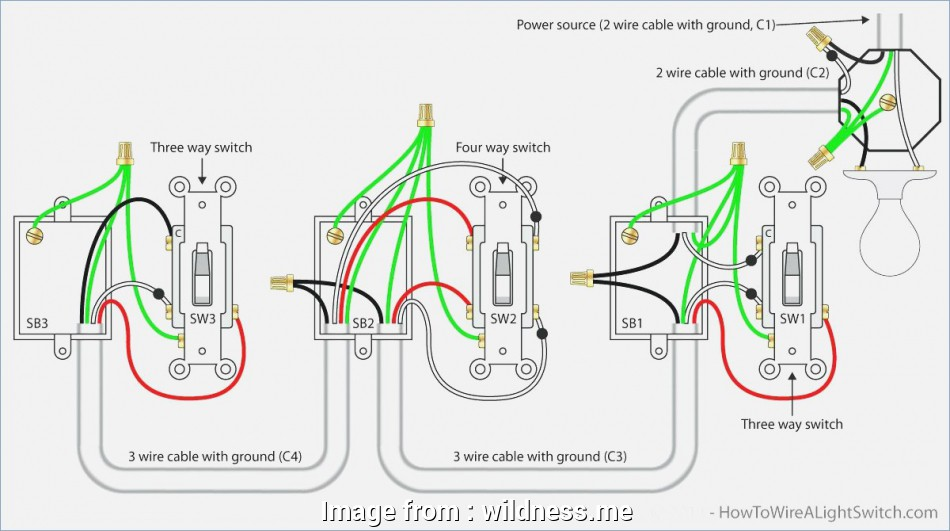 Ceiling  Light Switch Wiring Diagram New Wiring A Ceiling