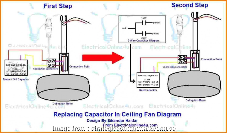 ceiling fan wiring diagram - with capacitor connection Leading Edge Ceiling, Wiringam Arlec With Light, Hampton, Speed, Ceiling, Wiring Diagram With Capacitor 10 Creative Ceiling, Wiring Diagram, With Capacitor Connection Photos