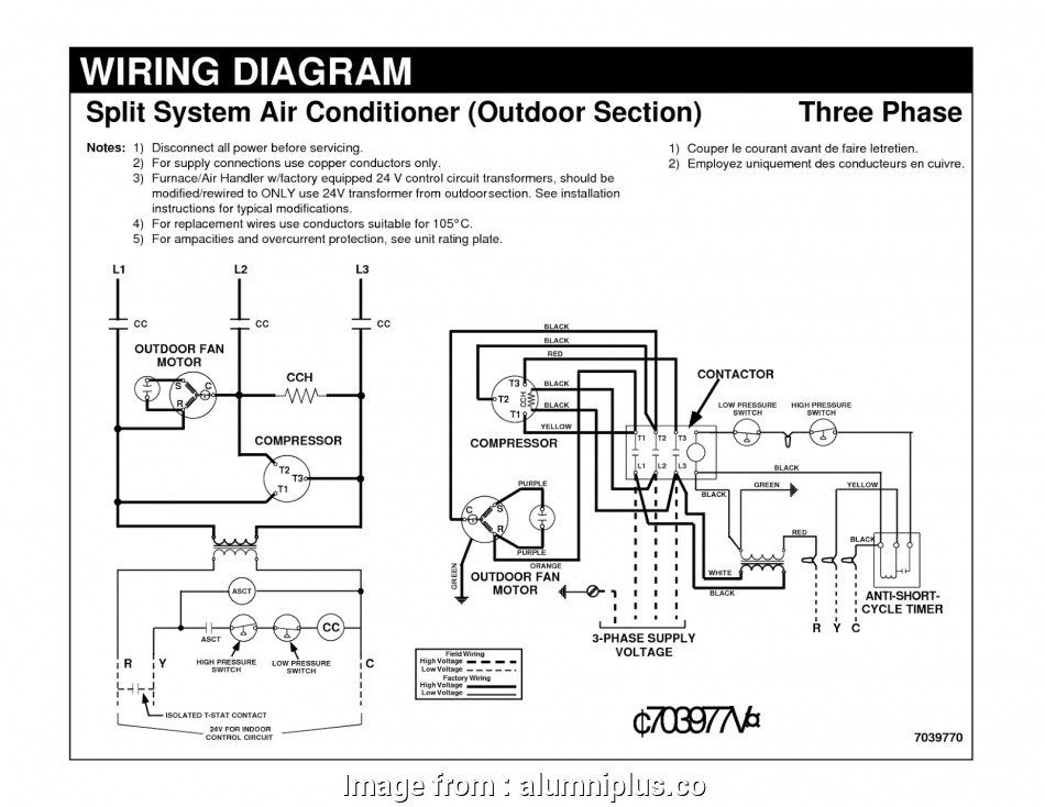 Central Ac Thermostat Wiring Diagram Most Air Conditioner ... on