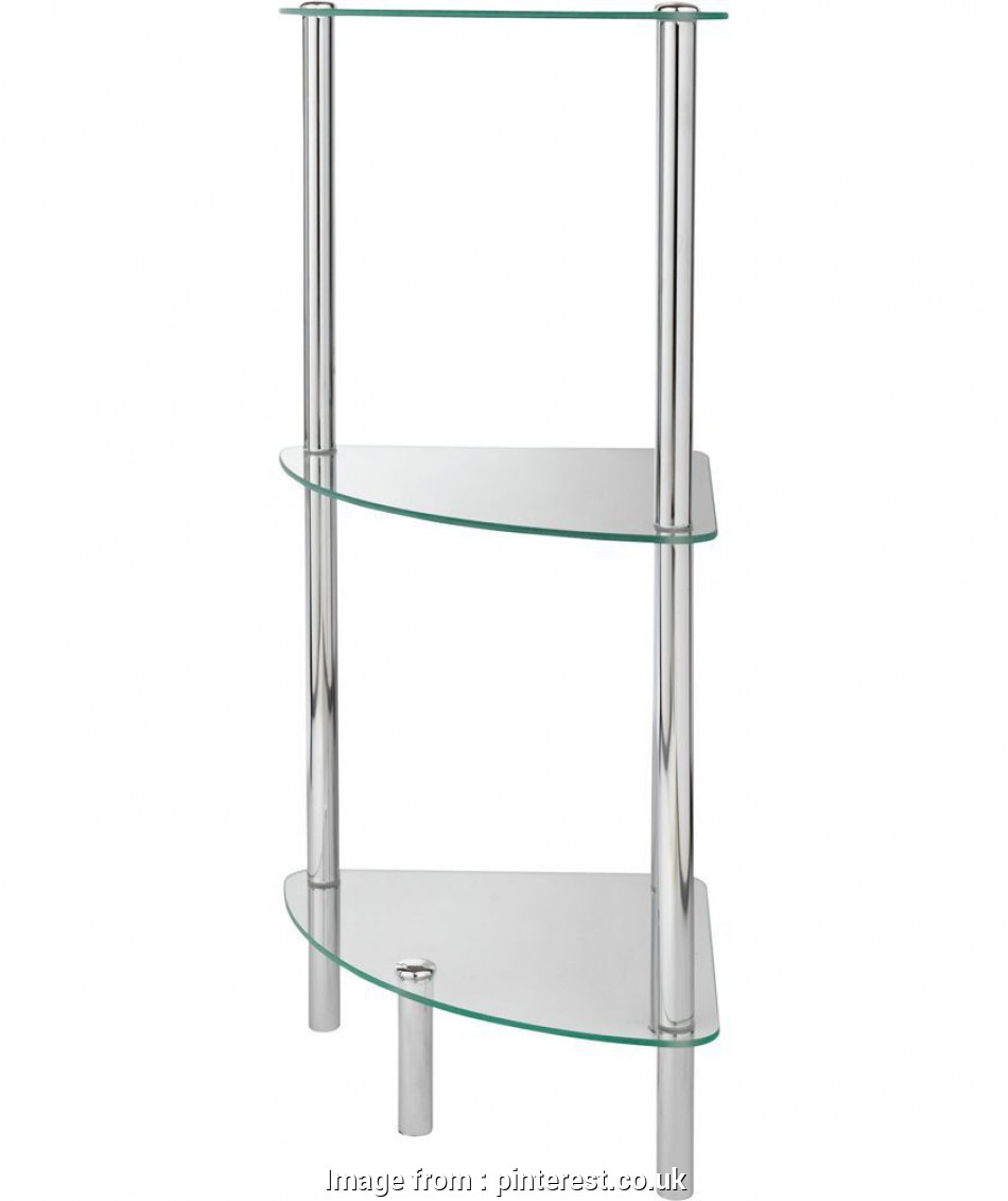 chrome wire shelving argos Buy Chrome 3 Shelf Bathroom Corner Shelving Unit at Argos.co.uk, Your 16 Most Chrome Wire Shelving Argos Images