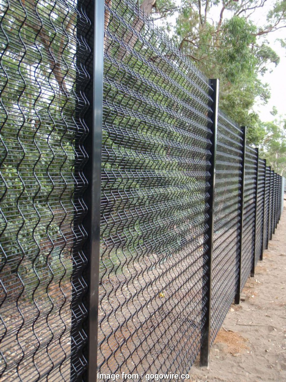 Concrete Wire Mesh Fence Simple Ametco Wire Mesh Fence