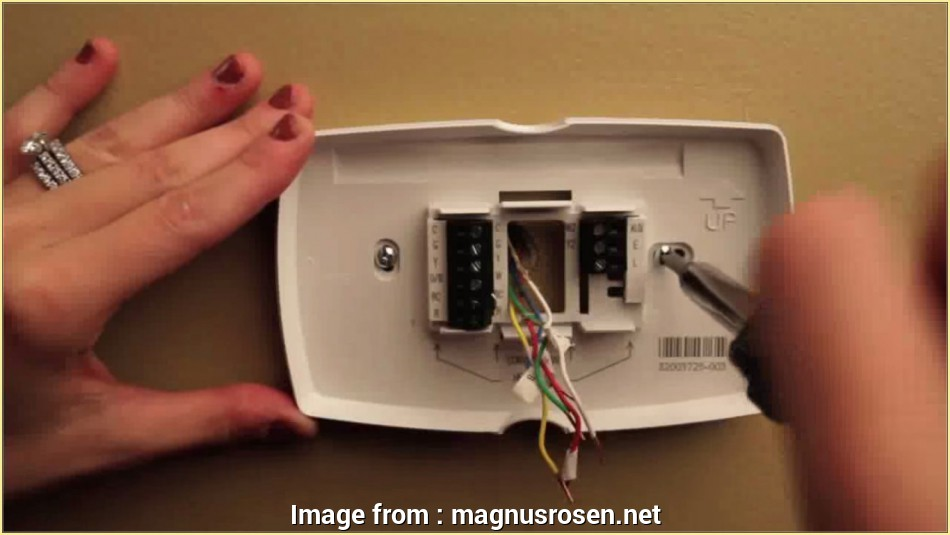 Conventional Thermostat Wiring Diagram Perfect 7  Conventional Programmable Thermostat Rth7500d