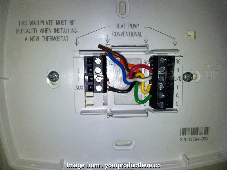 Conventional Thermostat Wiring Diagram New Honeywell