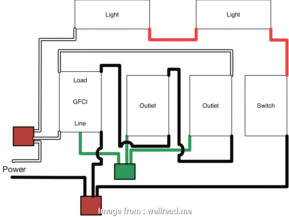 Cooper Gfci Outlet Wiring Diagram Popular Cooper Gfci Wiring Diagram Within Outlet  Wellread Me