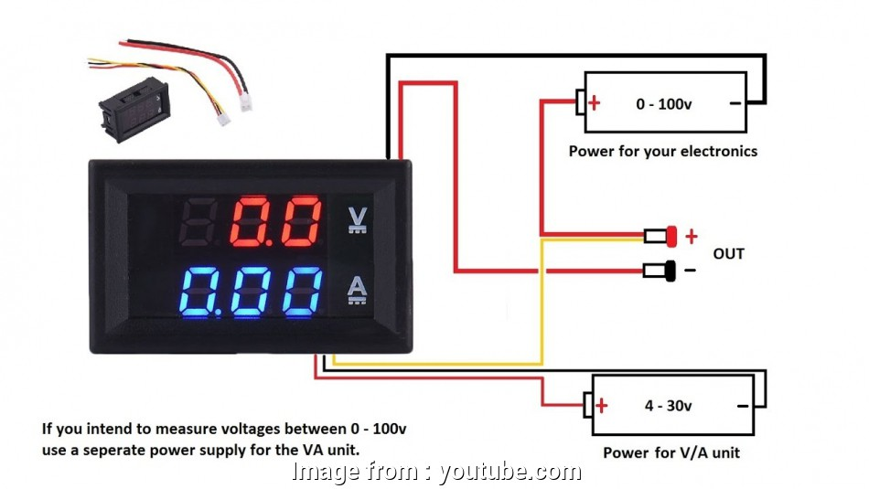 10 Most Digital Volt  Meter Wiring Diagram Photos
