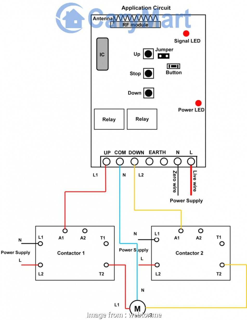 Direct Online Starter Wiring Diagram Popular How To Wire A