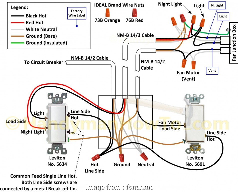 double switch junction box wiring diagram Wiring Diagram, Double Switch, fonar.me 15 Nice Double Switch Junction, Wiring Diagram Galleries