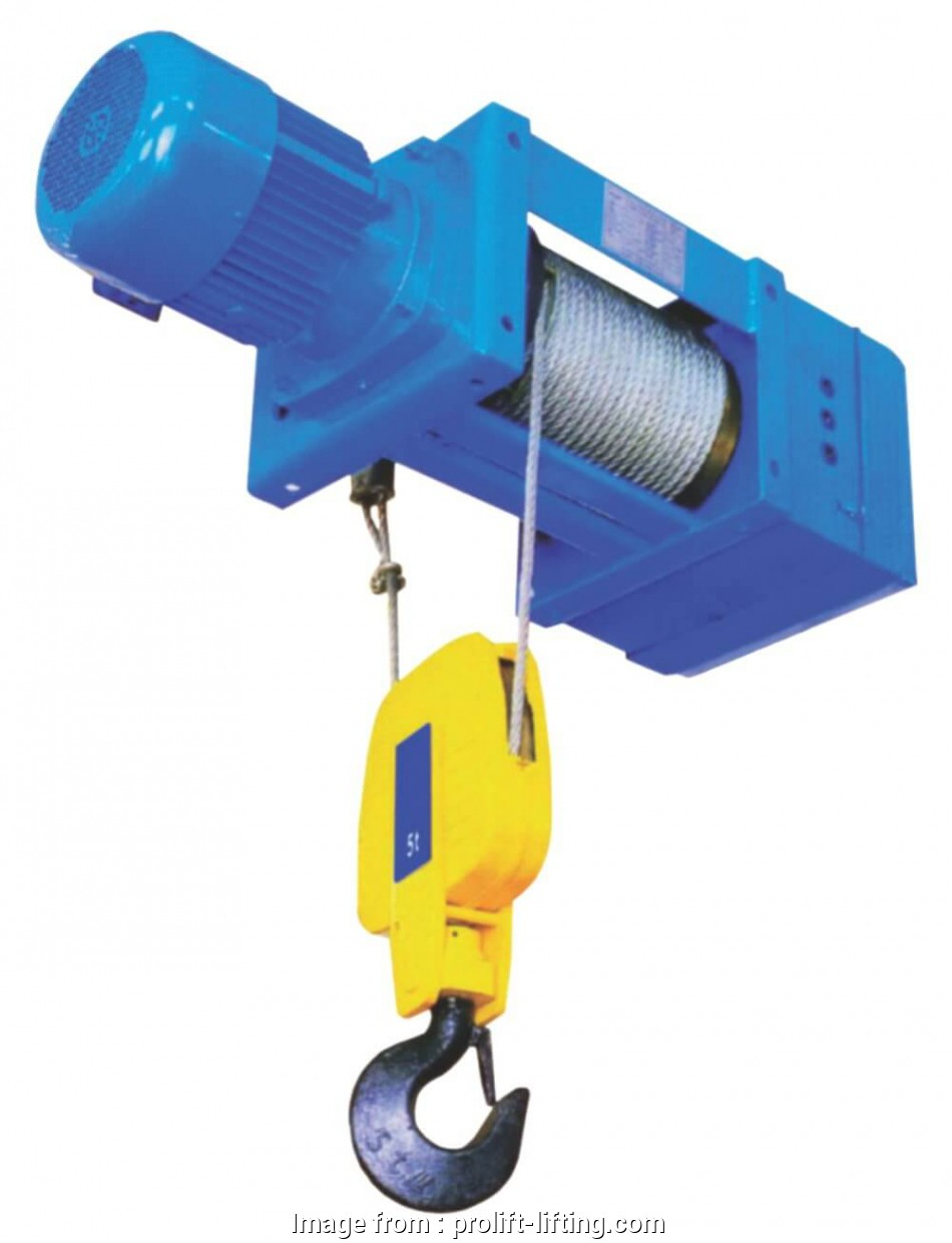 Electric Wire Rope Hoist New Fixed Electric Wire Rope