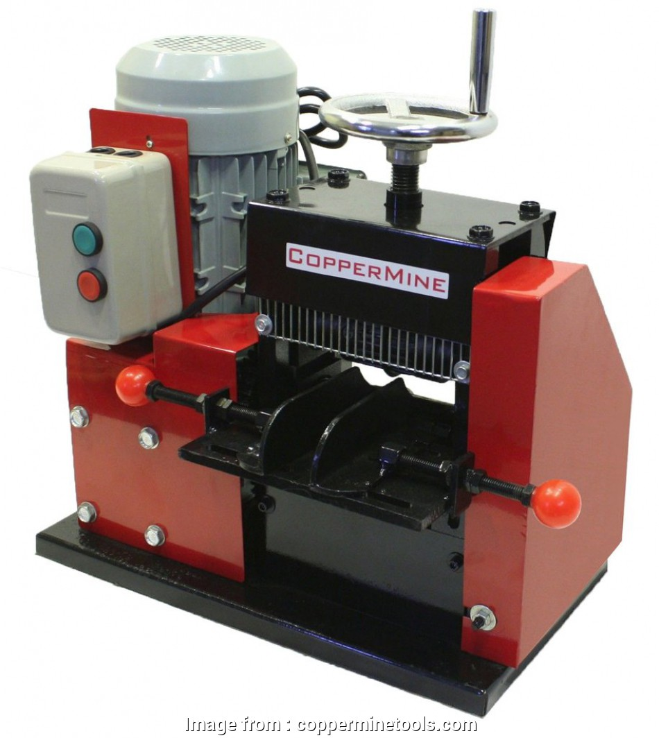 electric wire stripping machine Large Cable Wire Stripping Machine Strips up to 3 1/2