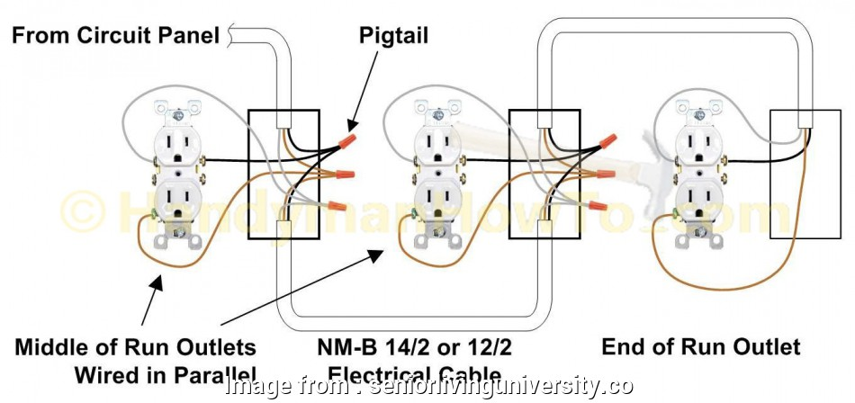 Electrical Outlet Wiring Types Top Pigtail Wiring Diagram