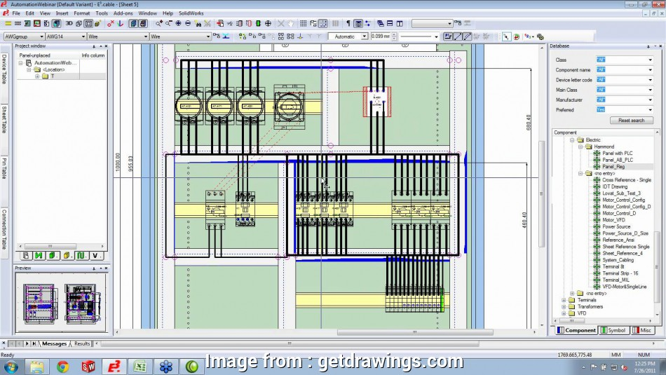 Electrical Panel Wiring Diagram Software Free Download