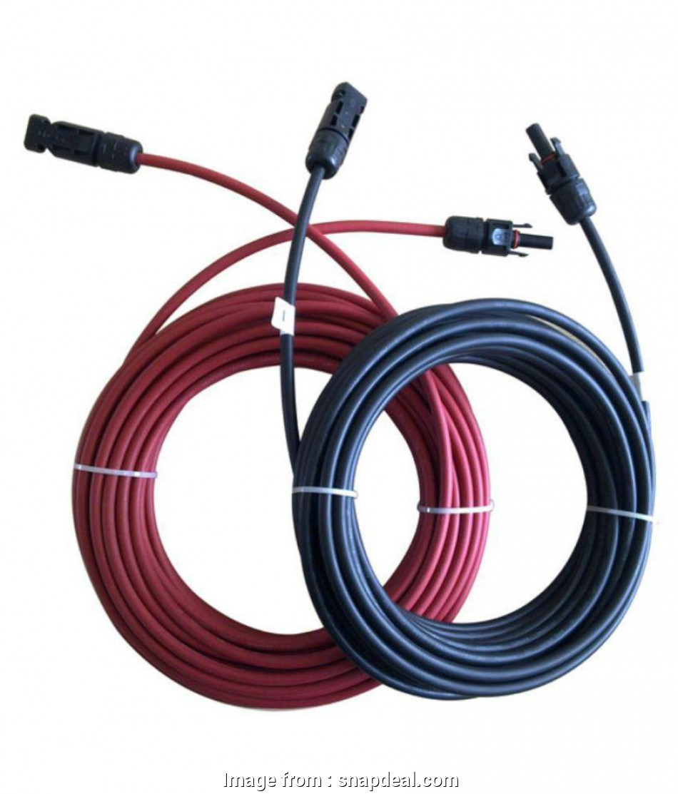 electrical wire connectors online india Surcle Solar, Connectors Pair with 6 sq.mm UV Protected Cable 5 meter 13 Perfect Electrical Wire Connectors Online India Pictures