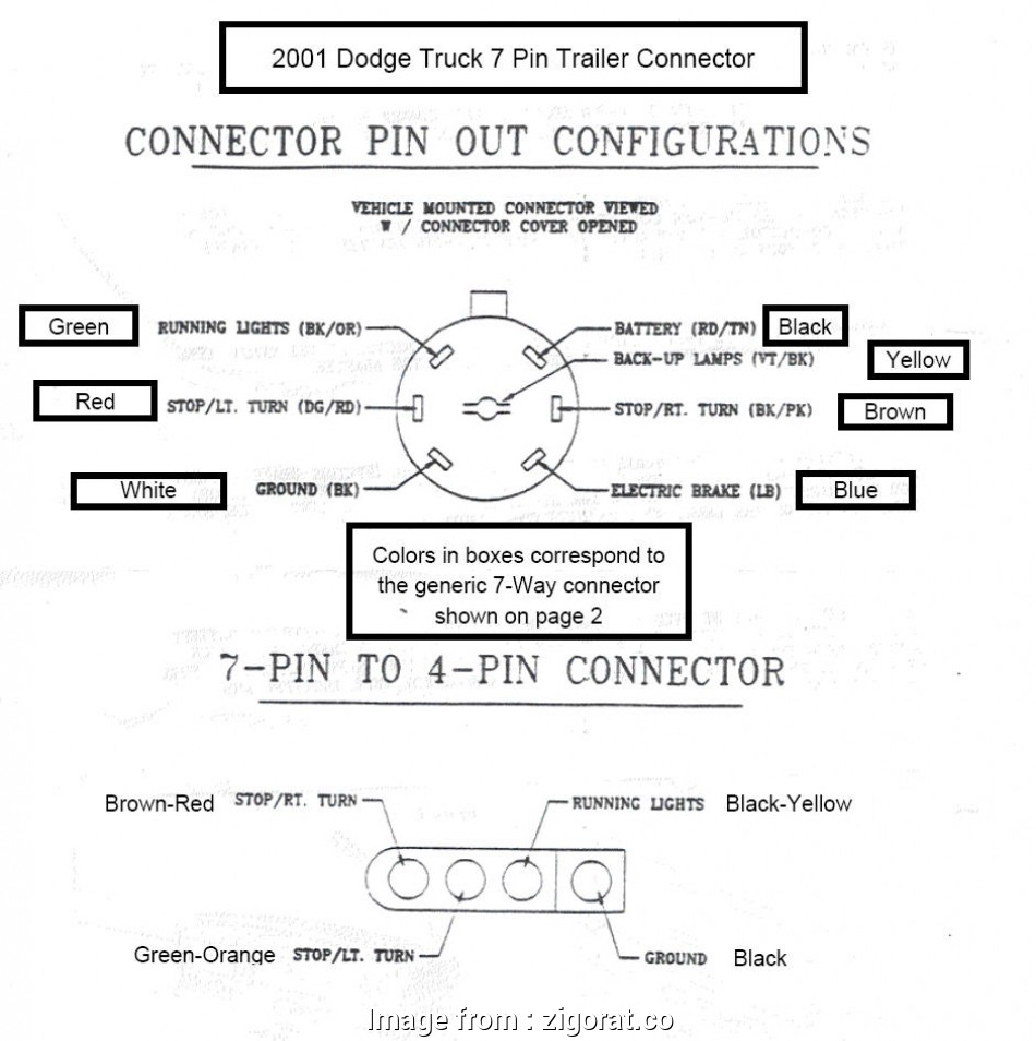 Pin To 4 Trailer Adapter Diagram Free Download Wiring Diagram