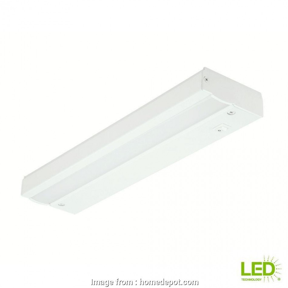 electrical wiring adding a light fixture Commercial Electric 12, White, Direct Wire Under Cabinet Light Electrical Wiring Adding A Light Fixture Cleaver Commercial Electric 12, White, Direct Wire Under Cabinet Light Pictures