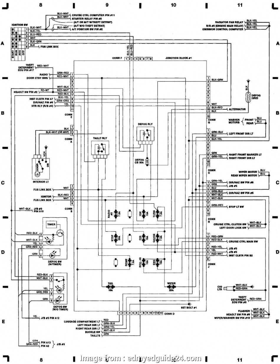 Electrical Wiring Diagram 1nz